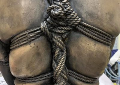 Shibari Sculpture | CTW Claire Tennant Workshop Life Casting