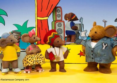 Rastamouse | Claire Tennant